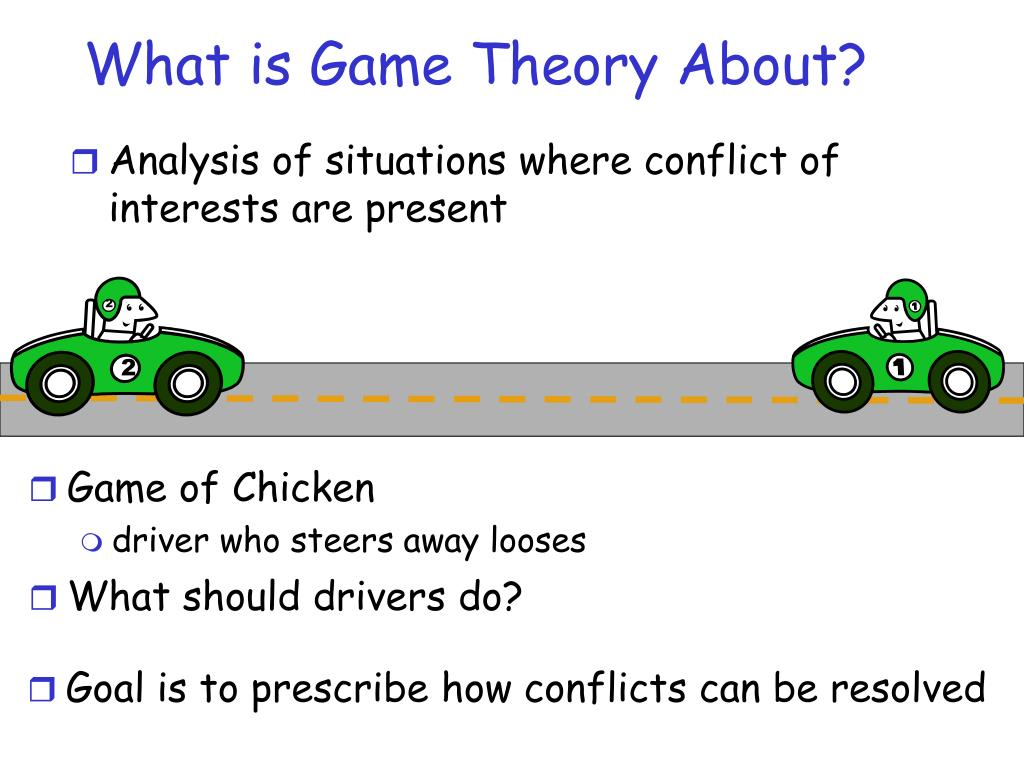 game theory applications in computer science