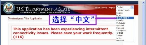 https ceac state gov genniv ds 160 application form