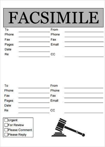 sample fax cover sheet for job application