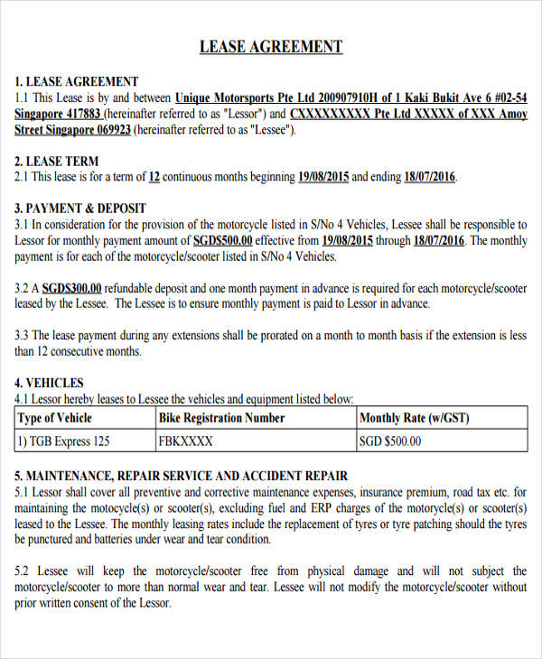 private rental application form qld