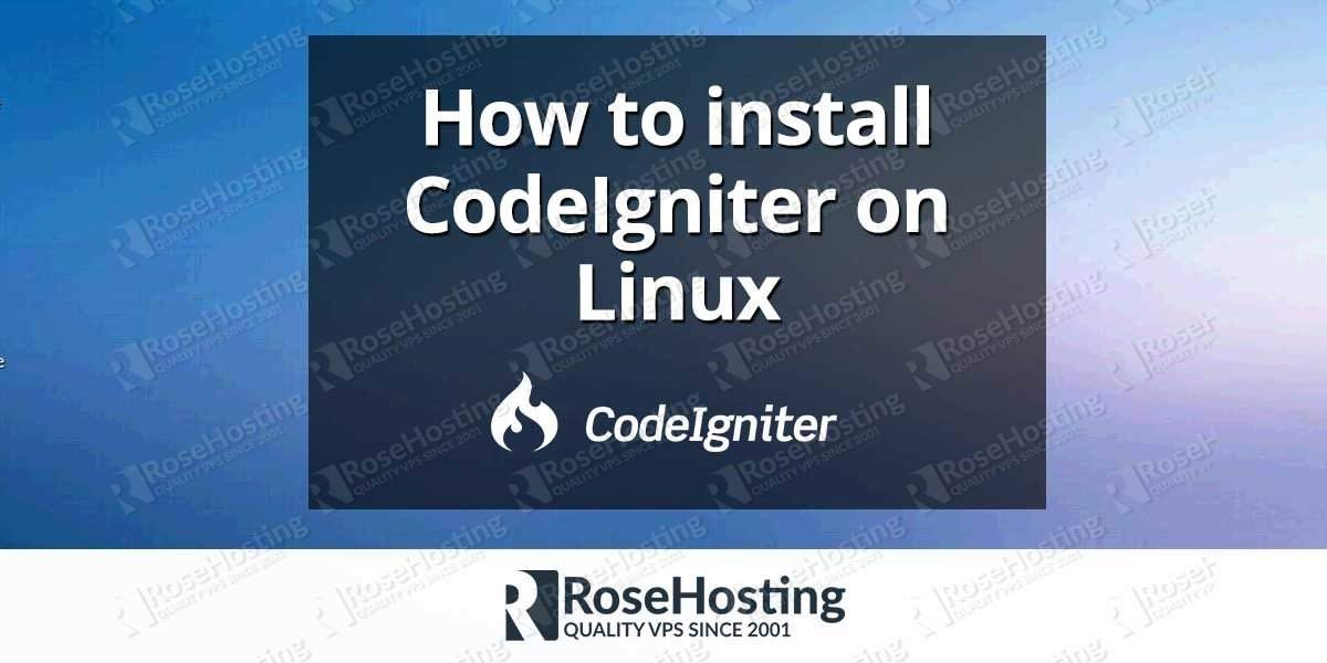 how to create web application using codeigniter