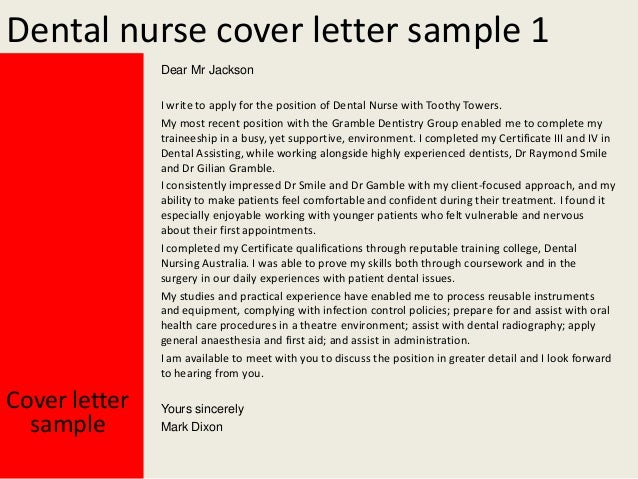 letter of application for the post of health care assistant
