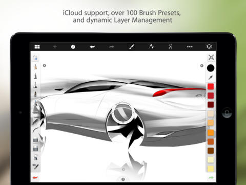 free paint application for ipad