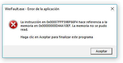 internet explorer werfault exe application error windows 8