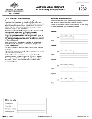 application form for subclass 820