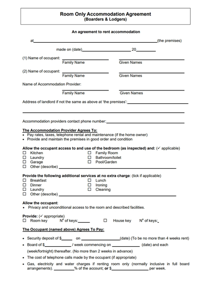 documents needed for rental application qld