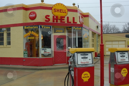 shell gas station application print out