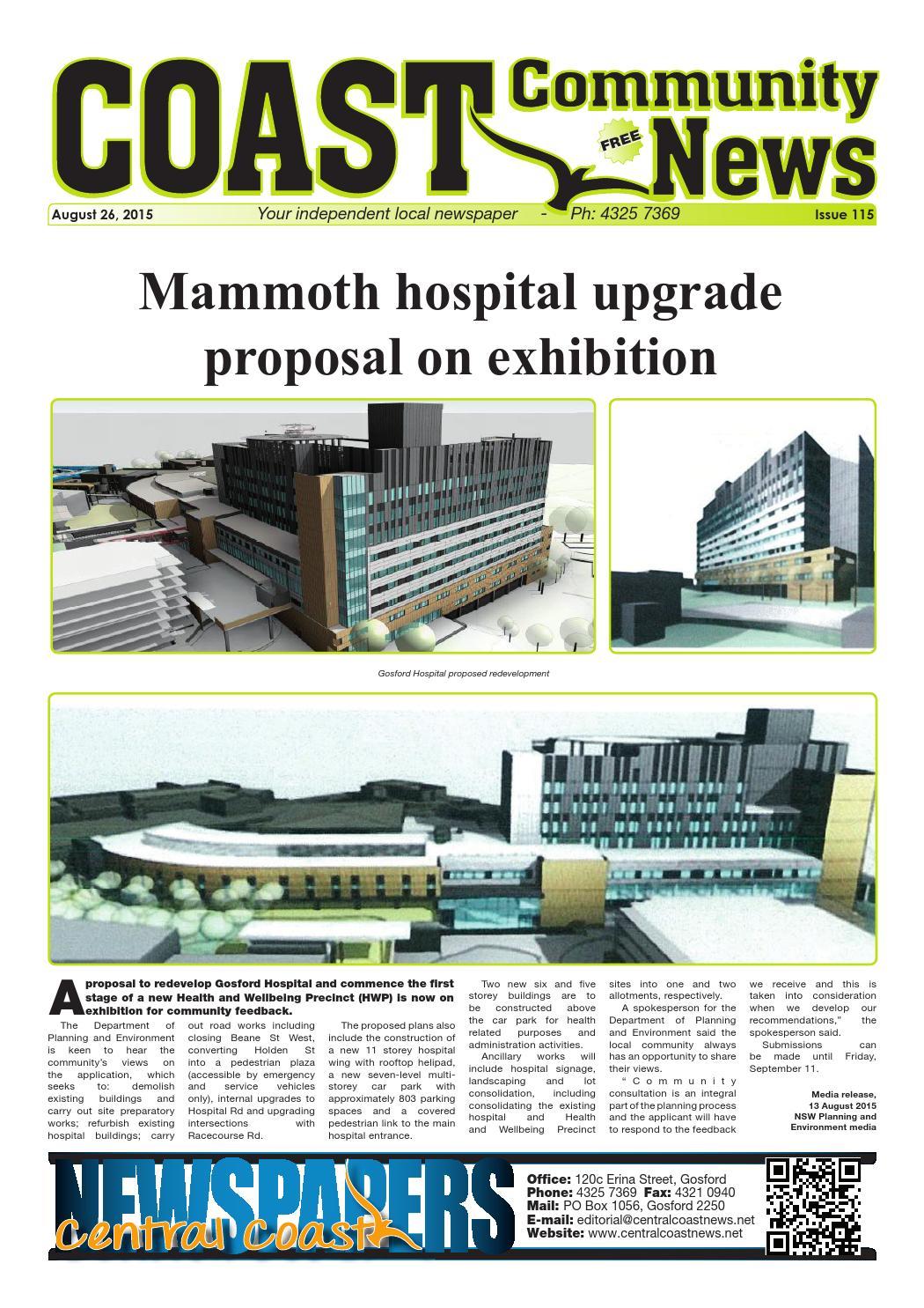gosford hospital car park stage 1 development application