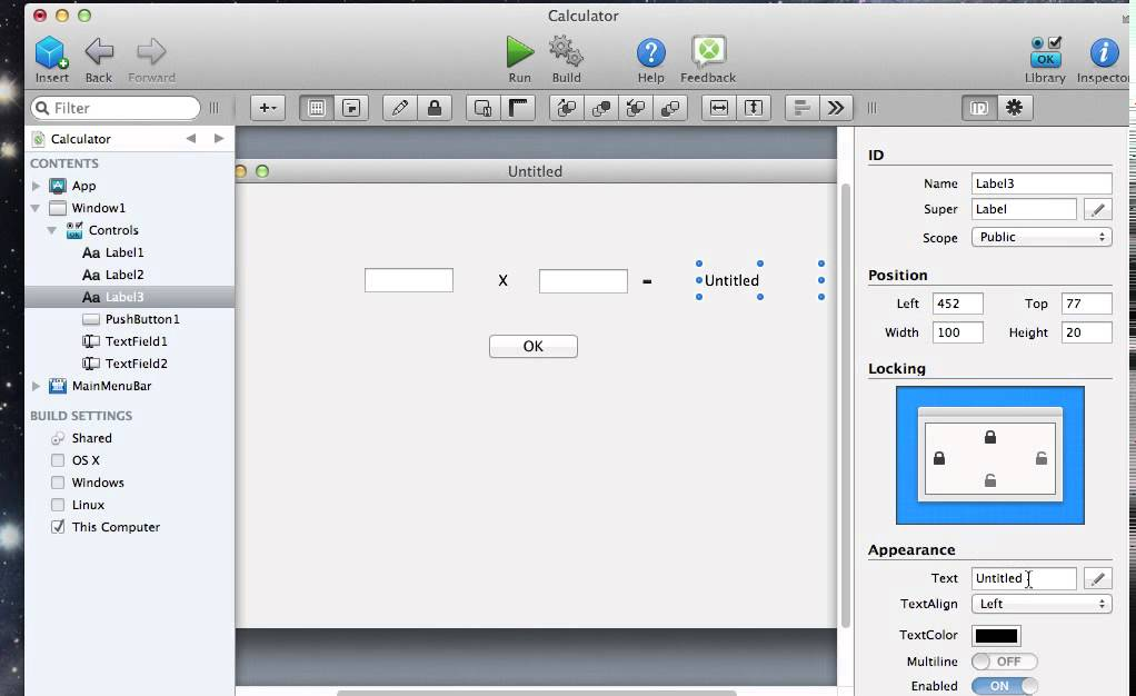 how to make a database application in visual basic