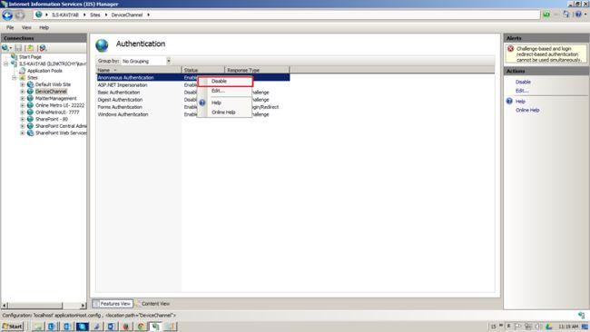 iis convert to application undo