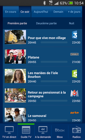 mobile tv application for android