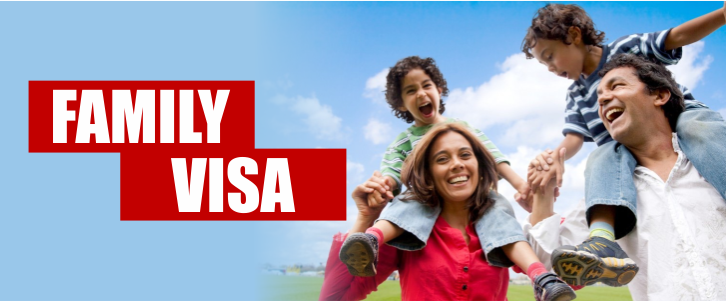 sponsored family visitor visa application fee
